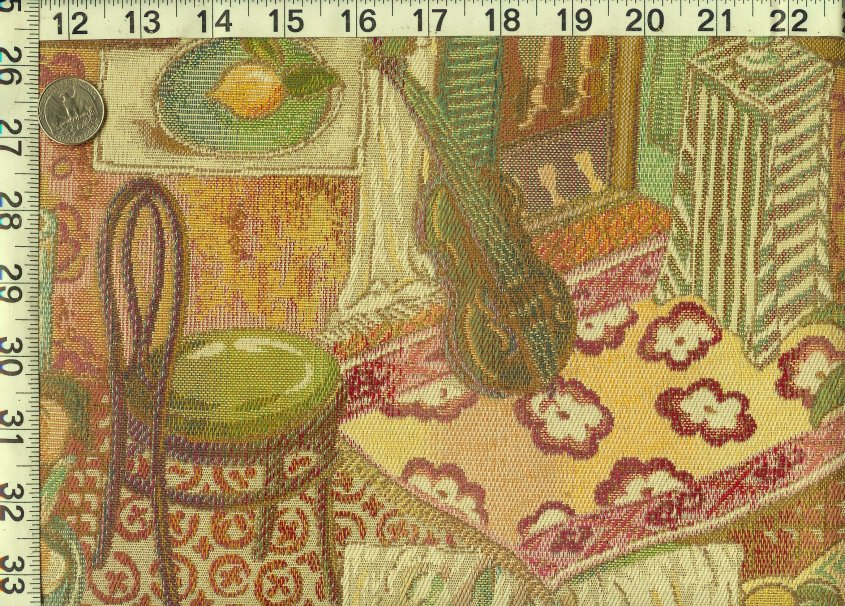Music Themed Tapestry Upholstery Fabric Ft660 On Popscreen
